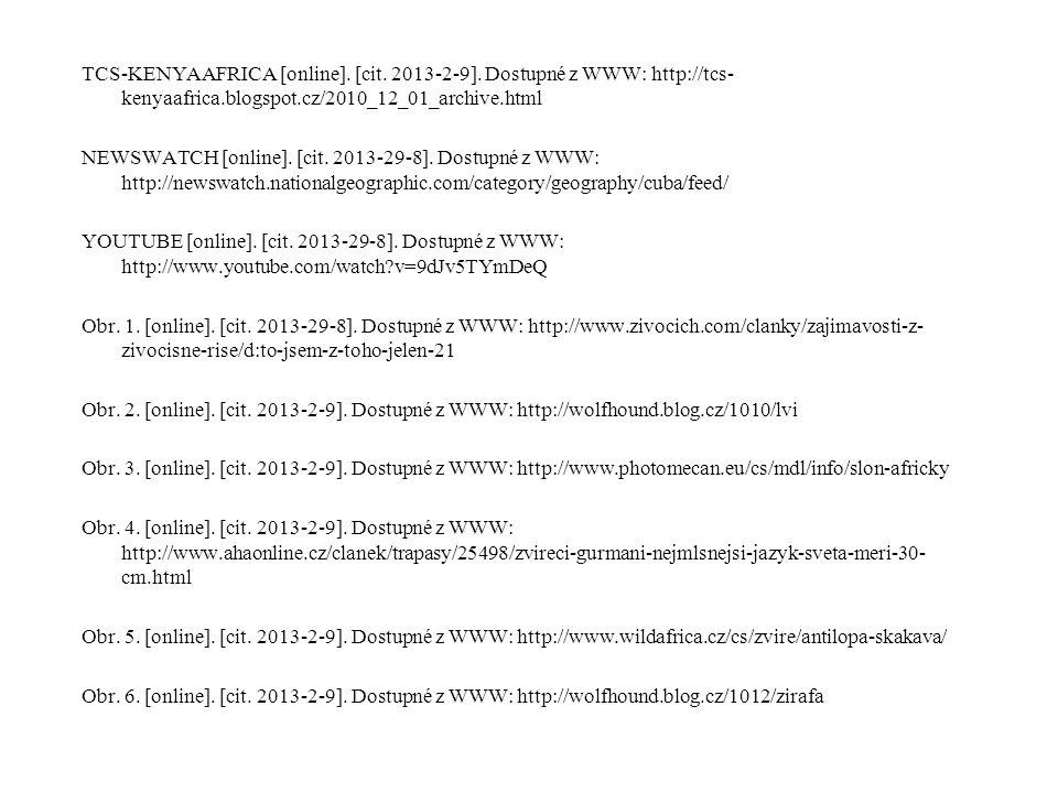 TCS-KENYAAFRICA [online]. [cit. 2013-2-9]